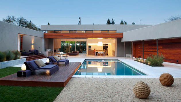 hardscape design ideas show time 15 stimulating modern contemporary hardscapes with wood home design lover - Hardscape Design Ideas