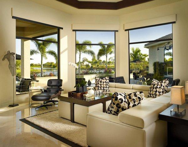 20 Gorgeous Living Room Furniture Arrangements | Home Design Lover