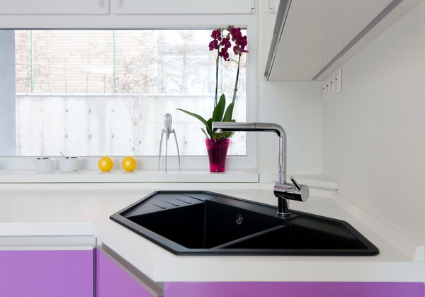 Corner Kitchen Sink Designs