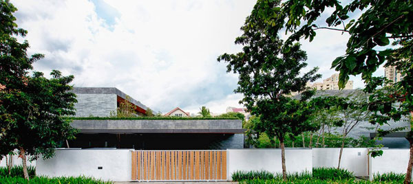 Two Houses in One The Wall House in SingaporeHome Design Lover