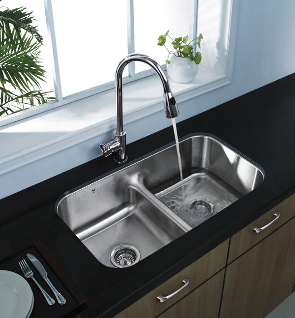 awesome Double Sink Kitchen #2: stainless Sink