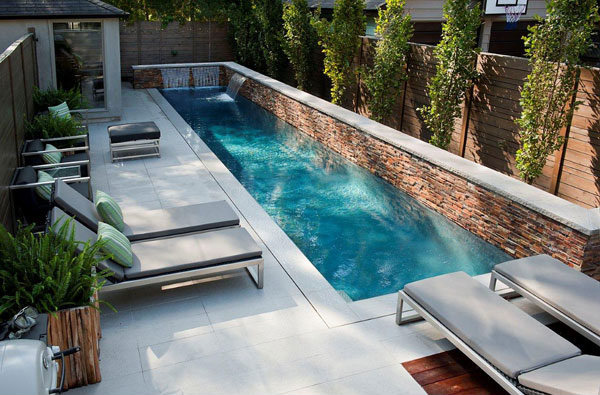 small lap pool - Small Pool Design Ideas