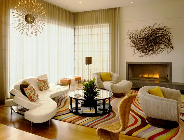 art deco living rooms