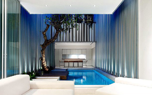 elegant swimming pool