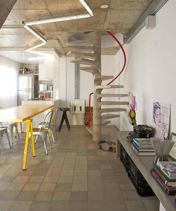 concrete staircase designs