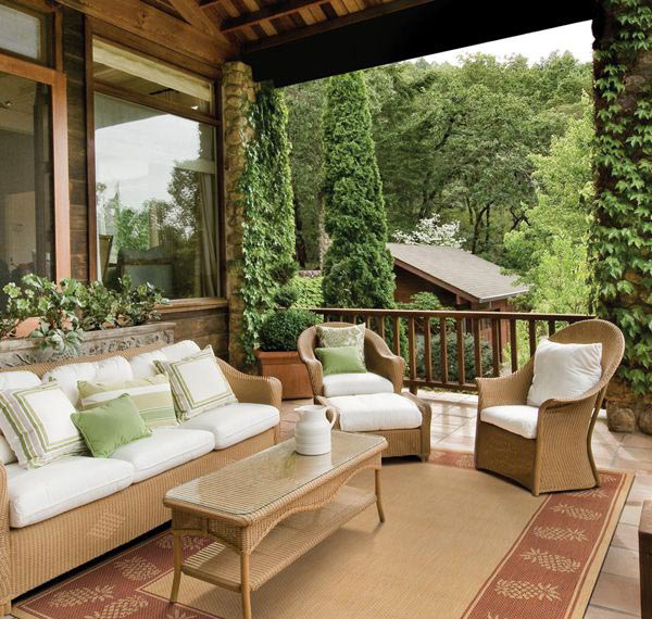 Natural and Terra Cotta Rugs