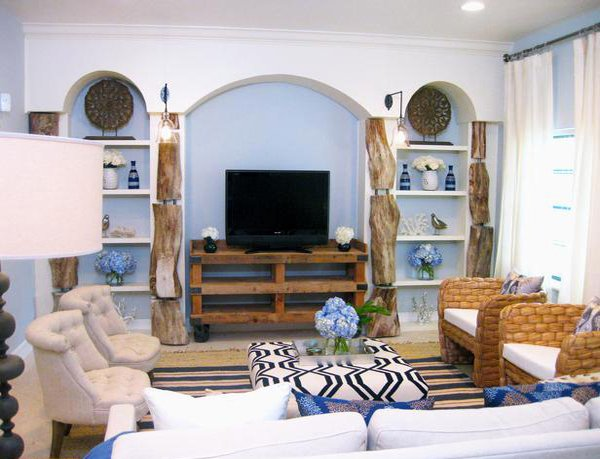 Brilliant 15 Homey Rustic Living Room Designs Home Design Lover Largest Home Design Picture Inspirations Pitcheantrous