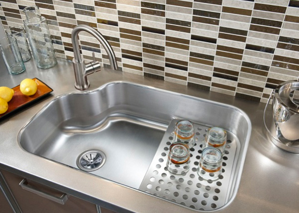 15 Cool Corner Kitchen Sink Designs | Home Design Lover