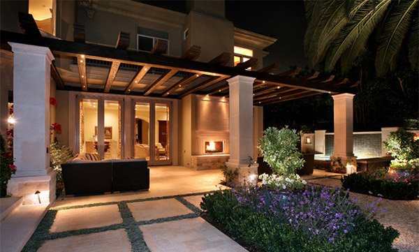 pergola lighting - Outdoor Lighting Design Ideas