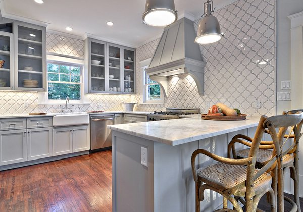 warm and grey kitchen cabinets  home design lover,Grey Kitchen Cabinets,Kitchen ideas