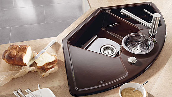 dark sink - Kitchen Sinks Photos