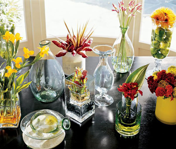 Vase filler ideas home