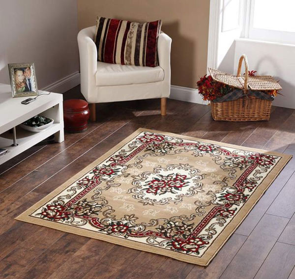 Tabriz Beige/Red