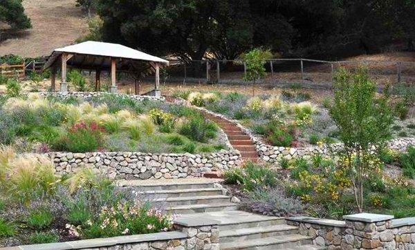 terracing stairs