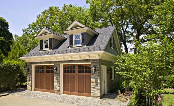 House in Garden City  NY. 20 Traditional Architecture Inspired Detached Garages   Home
