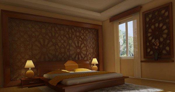 Modern Oriental Room