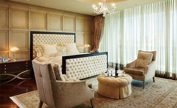 hotel-like bedroom
