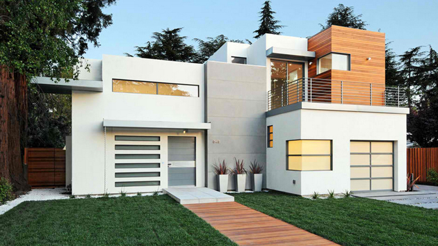. 20 Contemporary Attached Garage Design   Home Design Lover