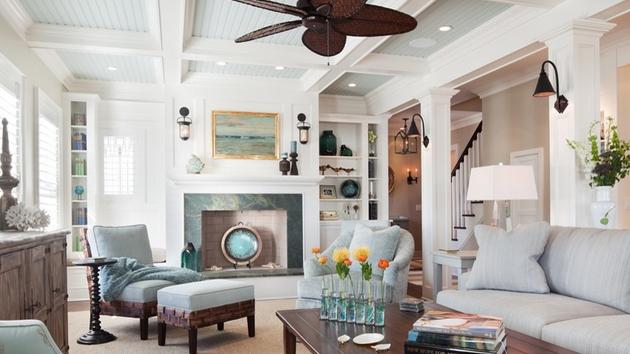 15 Different Living Room Ceiling TreatmentsHome Design Lover