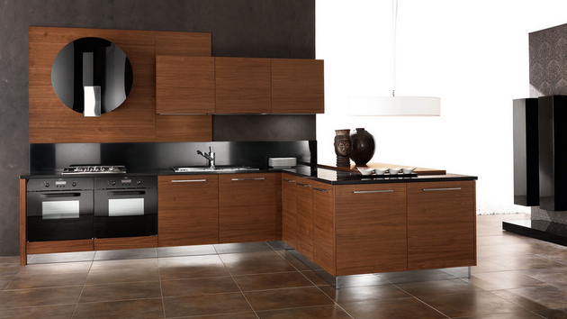 15 designs of modern kitchen cabinets home design lover - Contemporary Kitchen Cabinets Design