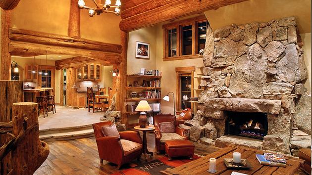 Brilliant 15 Homey Rustic Living Room Designs Home Design Lover Inspirational Interior Design Netriciaus