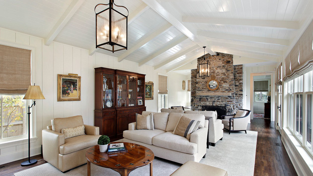 18 Living Room Designs with Vaulted CeilingHome Design Lover