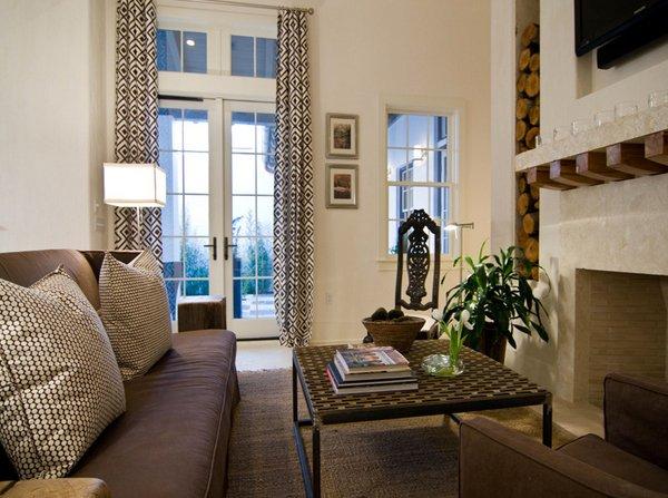 brown tan room designs
