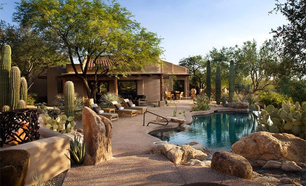 parched desert landscapes