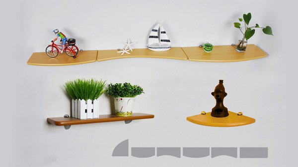 New Concept Wall Display Shelf