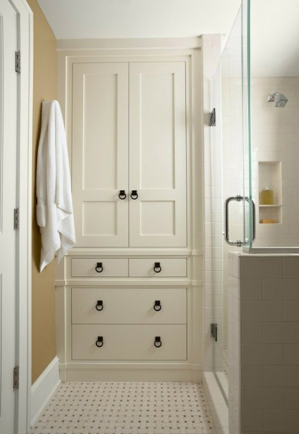 15 Traditional Tall Bathroom Cabinets Design | Home Design ...