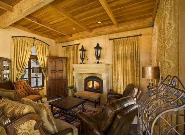 15 Stunning Tuscan Living Room Designs Home Design Lover