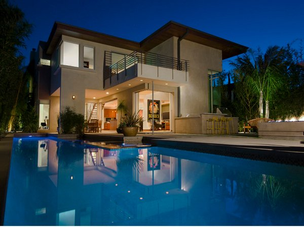 Lovely Swimming Pool House Designs   Home Design LoverLounge furniture