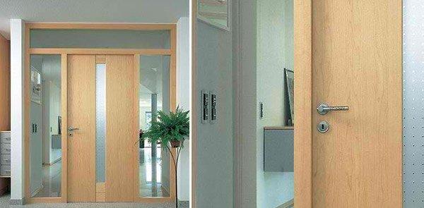 maple door