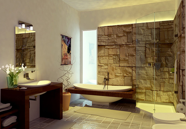sample modern bathroom - Bathroom Designs Contemporary