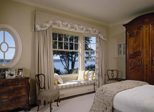 Curtains Ideas curtains for window seat : 15 Bay Window Ideas for Inspiration | Home Design Lover