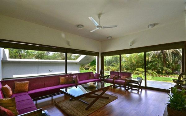 violet couch set
