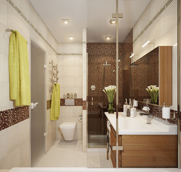 crabapple home shower modern - Bathroom Designs Contemporary
