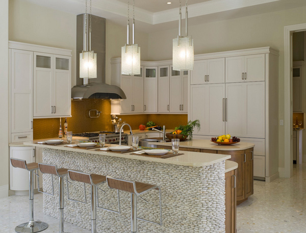 15 Distinct Kitchen Island Lighting Ideas | Home Design Lover