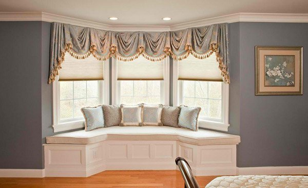elegant traditional style - Bay Window Design Ideas