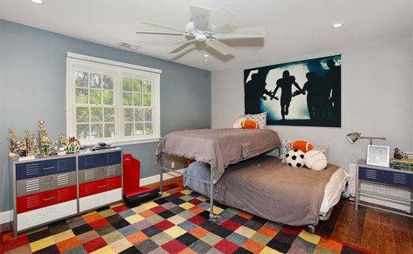 Traditional Kids San Diego. Get Athletic With 15 Sports Bedroom Ideas   Home Design Lover
