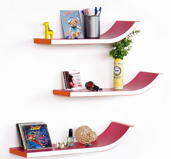 wooden shelf designs