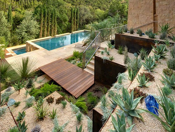Desert Landscape Design Ideas how to create desert landscape design rock landscaping ideas books Swimming Pool