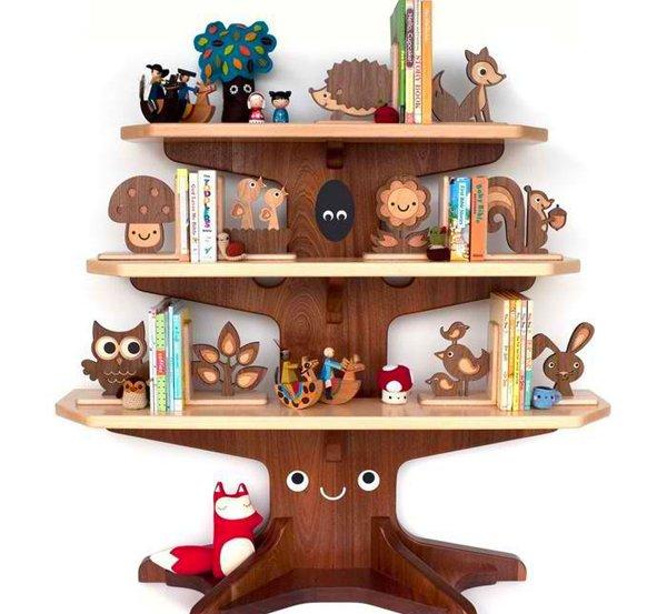 Happy Tree Bookshelf