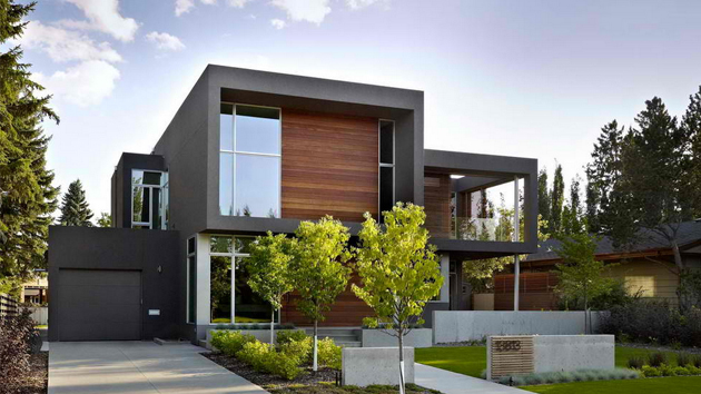 18 ttached Garages in a Modern Inspired Home Design Home Design ... - ^