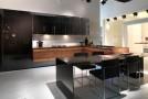 black tan kitchen