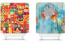 colorful showercurtain