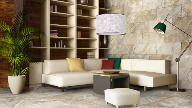 15 classy living room floor tiles home design lover - Home Design Lover