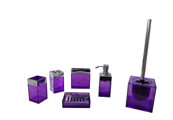 Bathroom Set Purple