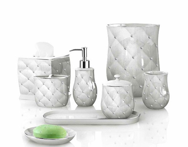 luxury bathroom accessories set  home design lover, Bathrooms