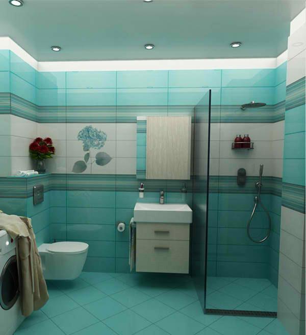 Bathroom of Mrs. Gushterova, version 1